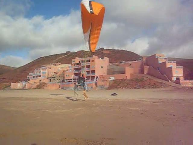 Plage d'Aglou (Maroc) le 04/03/2009 N°2